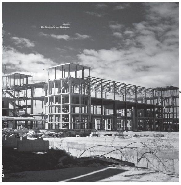 Jansen - Die Unschuld Der Gebäude (LP) (RSD2018)