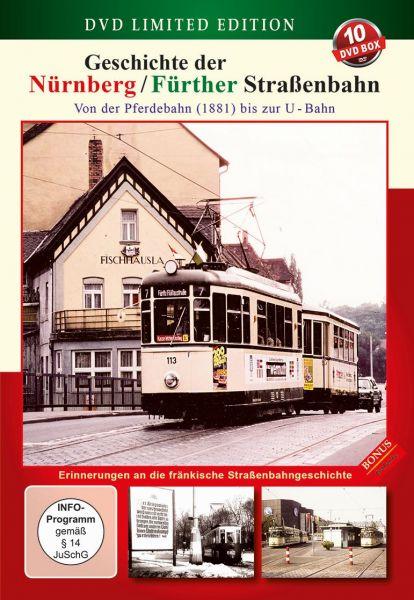 Geschichte der Nürnberg / Fürther Straßenbahn (10 DVDs)