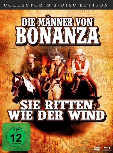 Die Männer von Bonanza, sie ritten wie der Wind (Blu-ray + DVD im Mediabook)