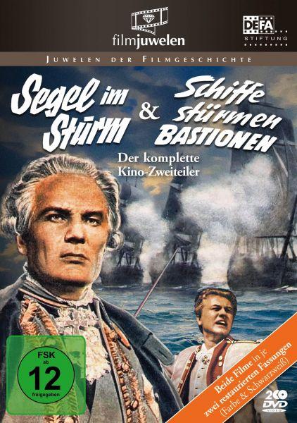 Segel im Sturm & Schiffe stürmen Bastionen - Doppelbox (DEFA Filmjuwelen)