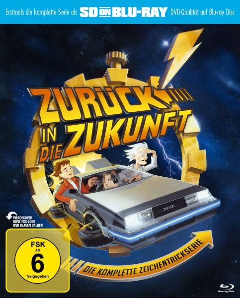 Zurück in die Zukunft - Die komplette Zeichentrickserie (SD on Blu-ray)