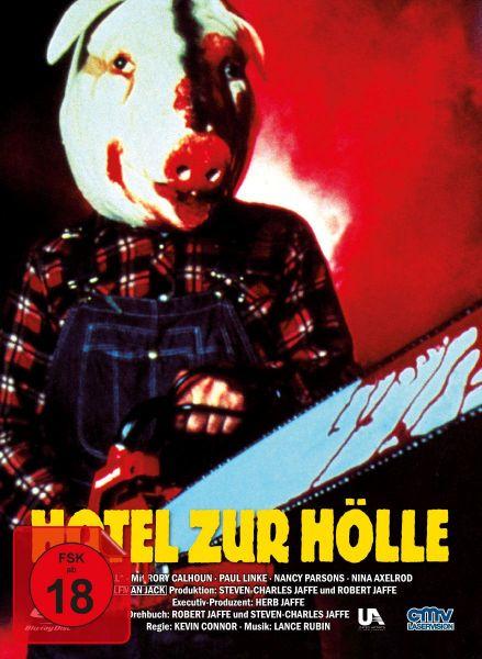 Hotel zur Hölle - Cover B (Limitiertes Mediabook) (Blu-ray + DVD)