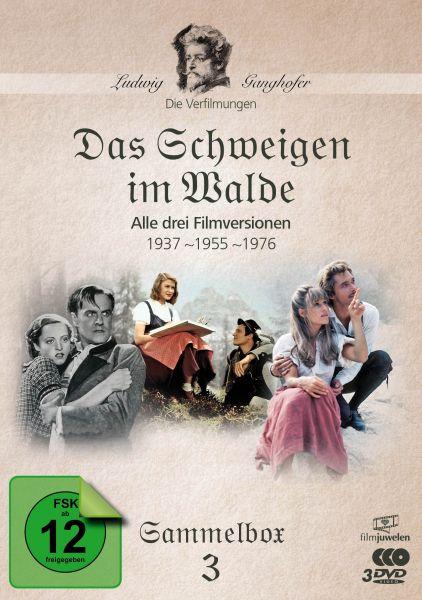 Das Schweigen im Walde (1937, 1955, 1976) - Die Ganghofer Verfilmungen - Sammelbox 3