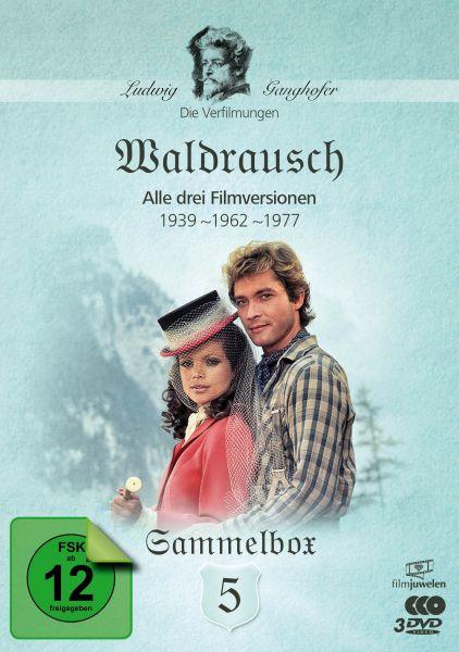 Waldrausch (1939, 1962, 1977) - Die Ganghofer Verfilmungen - Sammelbox 5