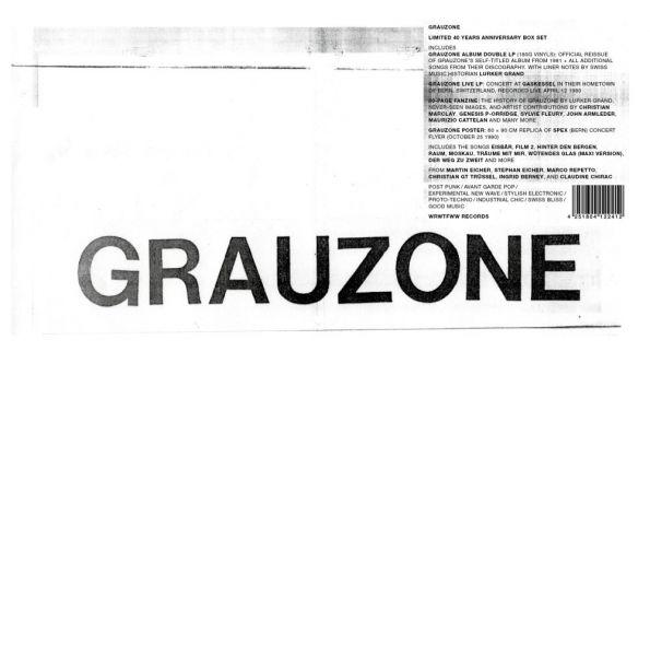 Grauzone - Limited 40 Years Anniversary Box Set