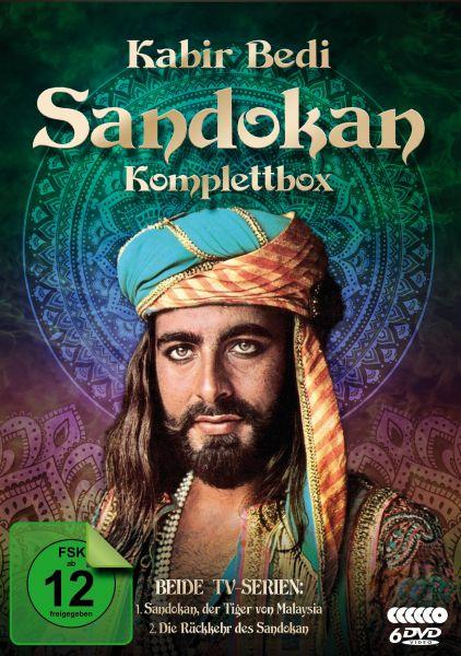 Sandokan - Komplettbox (Der Tiger von Malaysia & Die Rückkehr des Sandokan)