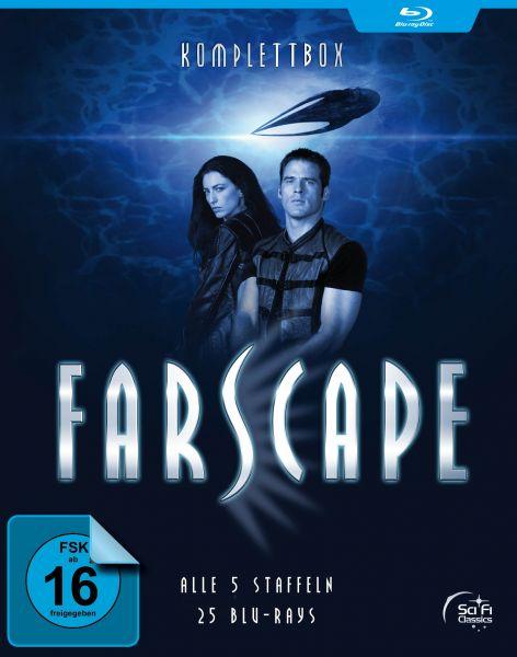 Farscape - Verschollen im All: Komplettbox (Alle 5 Staffeln - 25 Blu-rays)
