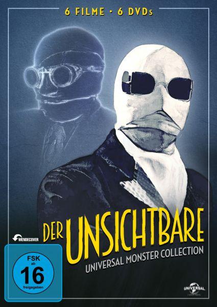 Der Unsichtbare - Universal-Monster-Complete-DVD-Collection