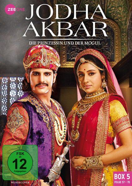 Jodha Akbar - Die Prinzessin und der Mogul (Box 5) (Folge 57-70)