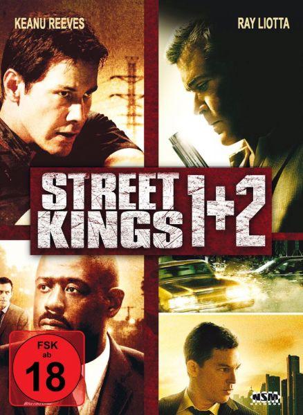 Street Kings 1 & 2 (Mediabook) (2 Blu-rays + 2 DVDs)