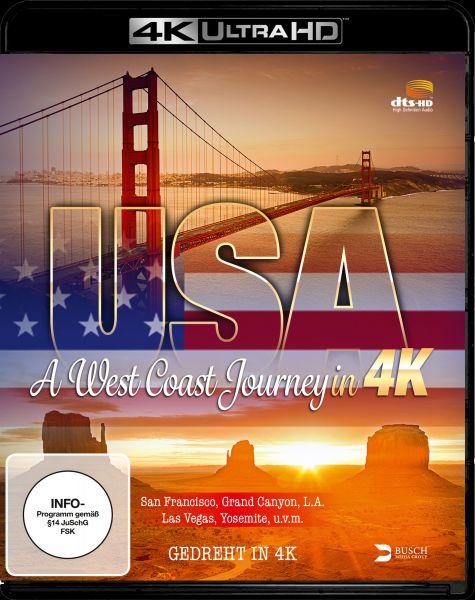 USA - A West Coast Journey (4K UHD)
