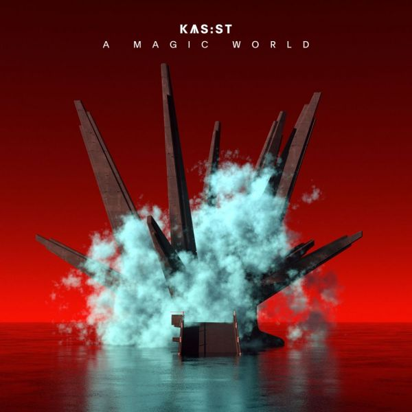 Kas:st - A Magic World (2LP, white and red color)