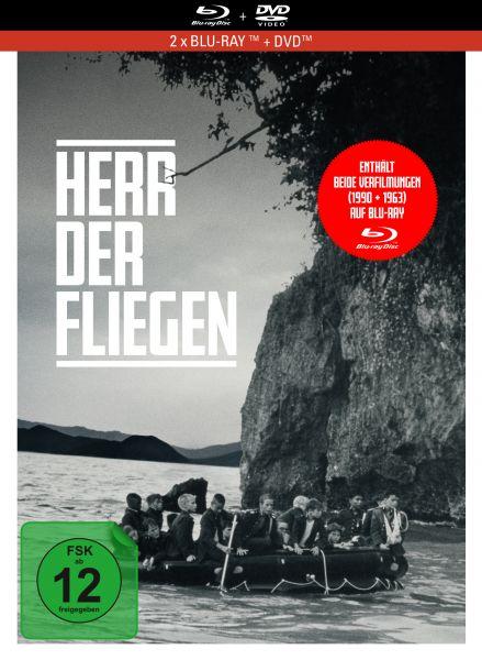 Herr der Fliegen - 3-Disc Limited Collector's Edition im Mediabook (Blu-ray + DVD + Bonus-Blu-ray)