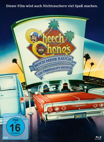 Cheech & Chong - Noch mehr Rauch um überhaupt nichts & Jetzt hats sich ausgeraucht (Mediabook mit Bl