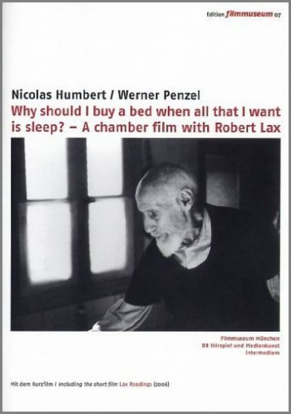 Robert Lax - Why Should I Buy A Bed