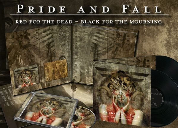 Pride And Fall - Red For The Dead - Black For The Mourning (Complete Edition)