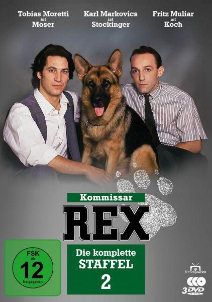 Kommissar Rex - Die komplette 2. Staffel