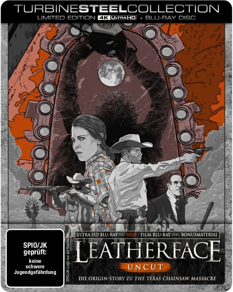 Leatherface (Uncut) (4K Ultra HD + Blu-ray) (Turbine Steel Collection)