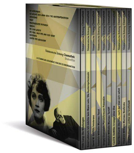 Gesamtbox mit 10 DVDs - SZ-Cinemathek Stummfilm