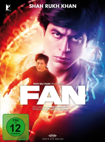 Shah Rukh Khan: Fan (Limitierte Special Edition) (Blu-ray & DVD)