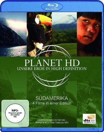 Planet HD - Unsere Erde in High Definition: Südamerika (4 Filme in einer Edition - Blu-ray)