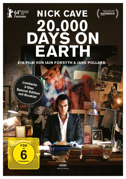 Nick Cave: 20.000 Days on Earth (3 Disc Limitierte Special Edition)