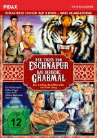 Der Tiger von Eschnapur + Das indische Grabmal - Remastered Edition (neue 4K Abtastung)