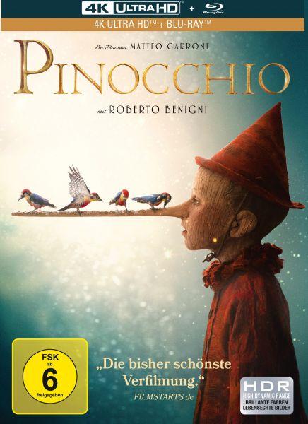 Pinocchio - 2-Disc Limited Mediabook (4K UHD + Blu-ray)