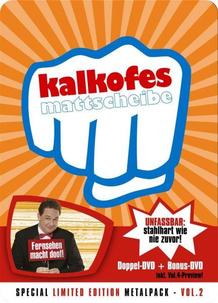 Kalkofes Mattscheibe Vol.2 - Ltd. Metalpak