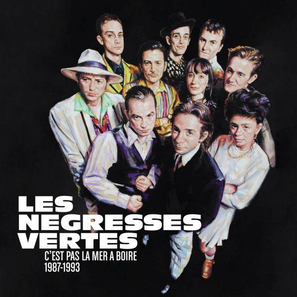 Les Negresses Vertes - C'est Pas La Mer À Boire (1987-1993) (3CD + DVD + Buch)