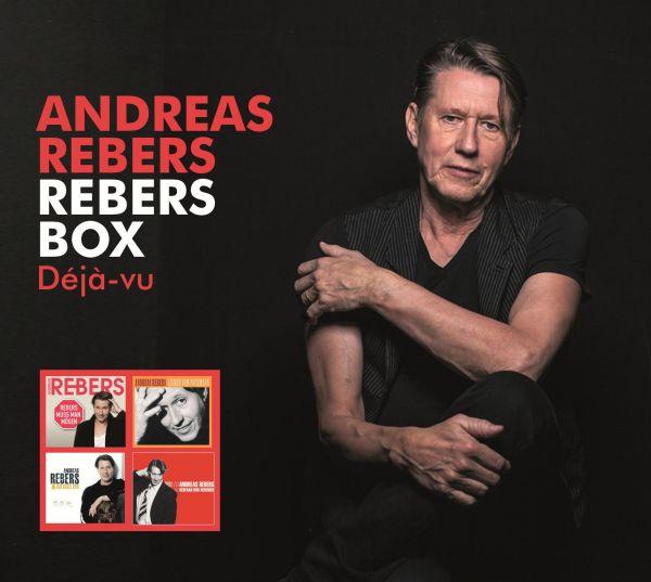 Rebers, Andreas - Rebers Box Deja-vu (4CD)