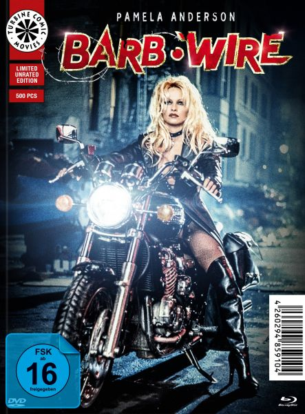 Barb Wire - Unrated [Mediabook C - Comic-Style] (Blu-ray + DVD)