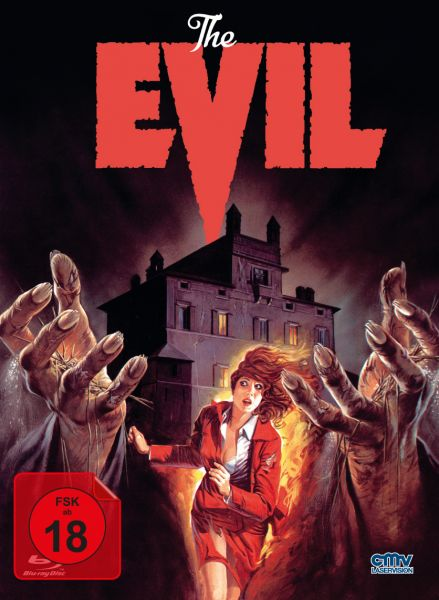 The Evil - Die Macht des Bösen - Cover B (Limitiertes Mediabook) (Blu-ray + DVD)