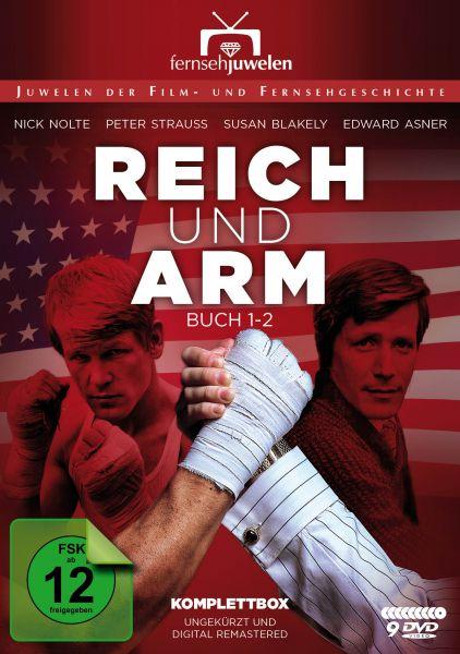 Reich und arm - Komplettbox: Buch 1 und 2 (Staffel 1 und 2 ungekürzt) (9 DVDs)