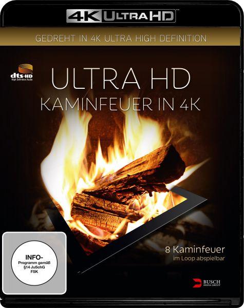 Ultra HD Kaminfeuer in 4K (4K UHD)