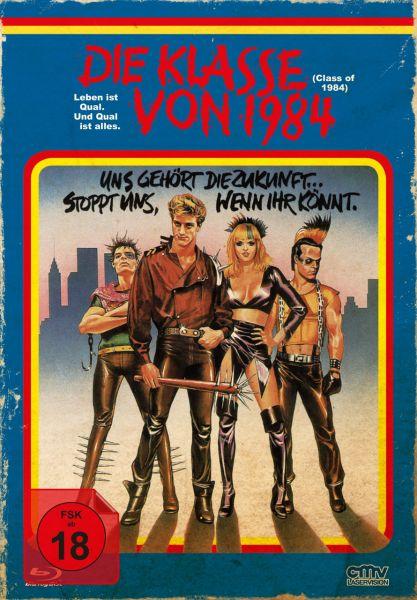 Die Klasse von 1984 (uncut) (Blu-ray + DVD) (VHS-Edition)