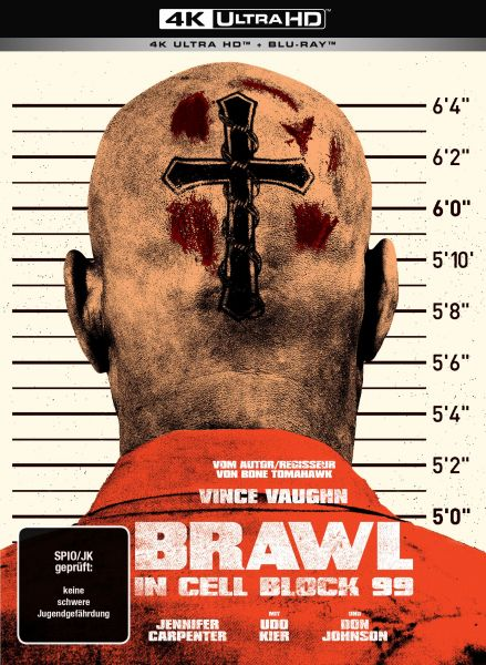 Brawl in Cell Block 99 (Uncut) - 2-Disc Mediabook (UHD + Blu-ray)
