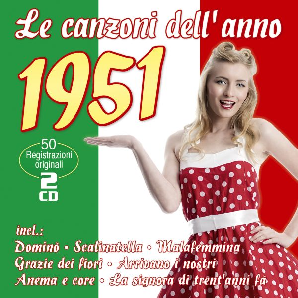 Various - Le Canzoni Dell'Anno 1951
