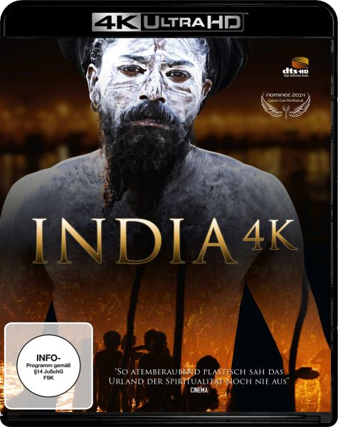 India 4K - Special Edition (4K UHD) (inkl. 3D Blu-ray)