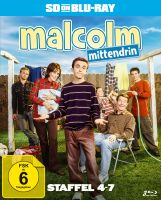 Malcolm mittendrin - Staffel 4-7 (SD on Blu-ray)