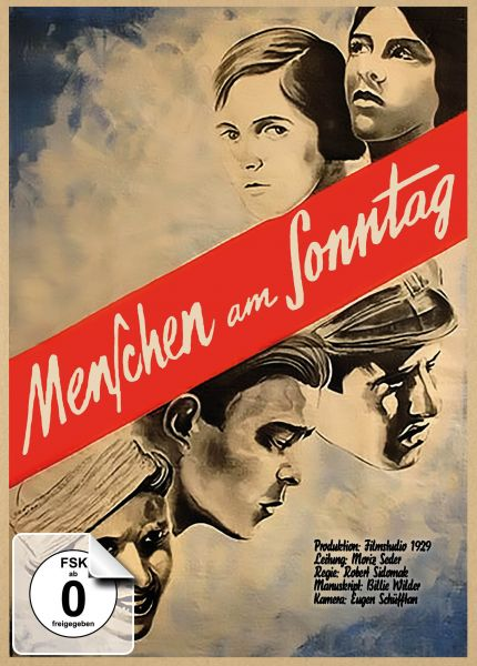 Menschen am Sonntag - limitiertes Mediabook, restaurierte Fassung (DVD + Blu-ray)