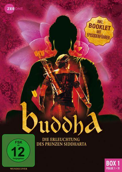 Buddha - Die Erleuchtung des Prinzen Siddharta (Box 1) (Folge 1-11)