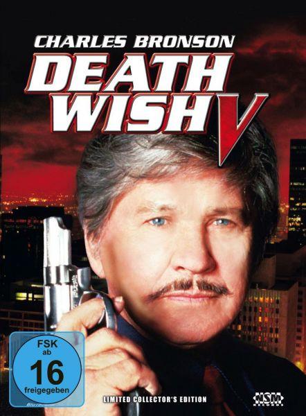 Death Wish 5 (Antlitz des Todes) (Charles Bronson) (Mediabook - Cover A) (Blu-ray + DVD)