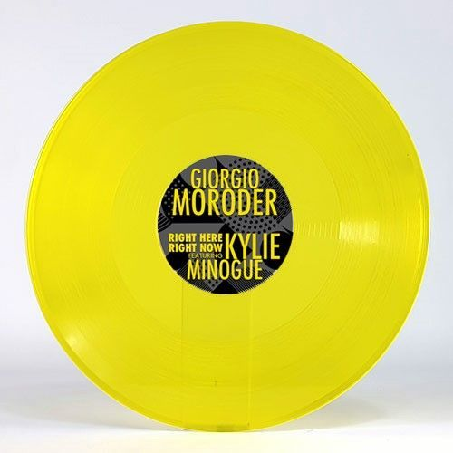 Giorgio Moroder feat. Kylie Minogue - Right Here Right Now (LTD colored 12)