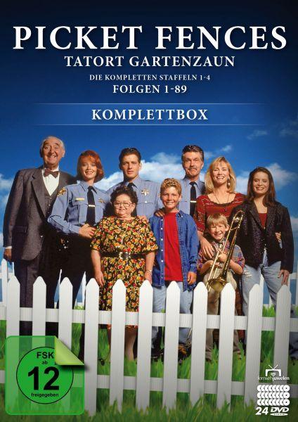 Picket Fences - Tatort Gartenzaun: Komplettbox (24 DVDs)