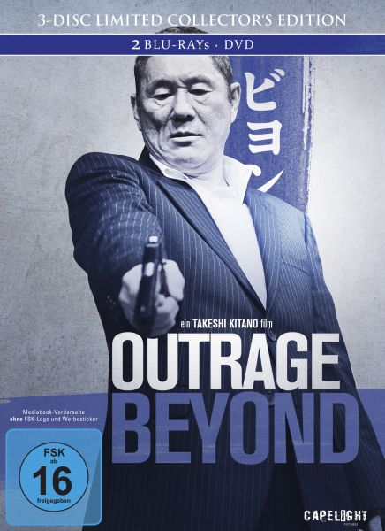 Outrage Beyond (3-Disc Limited Collector's Edition Mediabook)