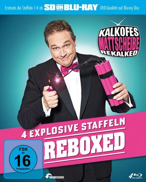 Kalkofes Mattscheibe Rekalked - Reboxed! (Staffel 1-4) (SDonBlu-ray)